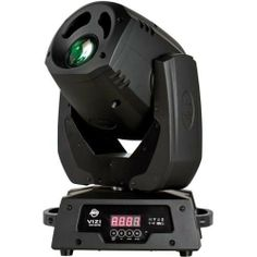 American DJ Vizi Spot LED Pro by American DJ. $999.99. The Vizi Spot LED Pro is a high performance moving head lighting fixture with two effects in one. Not only does it feature a hard edge spot beam, but it also has a frost wash effect as well. The Vizi Spot LED Pro is powered by a high-output 50W long-life LED source with a low power draw of 130W and offers plenty of pro features for any DJ or club setup. It comes with 8 dichroic colors plus white (includes UV...