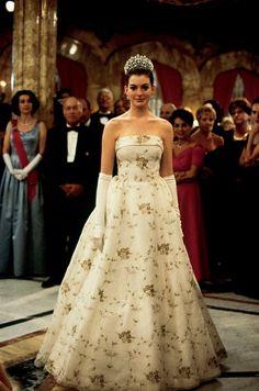Mia (Anne Hataway)  - El diario de la princesa