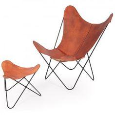 Butterfly chair by Jorge Ferrari-Hardoy