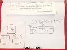 Learn to teach addition and subtraction word problems by problem type. Pay attention to the relationship of the numbers in the problem, not keywords. 1st Grade Math Games, 2nd Grade Math Worksheets, Second Grade Math, Grade 2, Teaching Math, Maths, Teaching Aids, Teaching Resources, First Grade Lessons