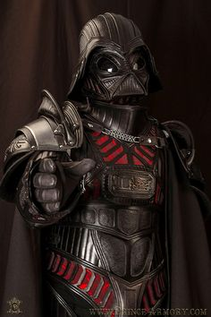 Samuel Lee of Prince Armory has created a brilliant leather suit of medieval armor that looks like the one Darth Vader wears in Star Wars. The amazing amount of detail, evil black leather, and dead...