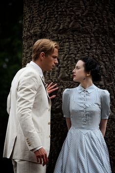 King Edward VIII and Wallis Simpson - James D'Arcy and Andrea Riseborough in W.E., 1934-1936 (2011).