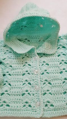 Baby Hooded Sweater Crochet Baby Sweater Baby Coming Home image 1 Crochet Baby Sweaters, Crochet Baby Clothes, Baby Pullover, Baby Cardigan, Sweater Set, Hooded Sweater, Sweater Jacket, Baby Girl Crochet, Hand Crochet