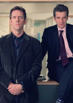 I love fortysomething because of those two, I'll pretty much watch anything with them... First time I saw Benedict Cumberbatch