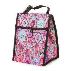 Tote around a bold & bright lunch bag this #school year!