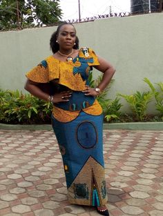 Classy picture collection of Beautiful Ankara Skirt And Blouse Styles These are the most beautiful ankara skirt and blouse trending at the moment. If you must rock anything ankara skirt and blouse styles and design. Latest African Fashion Dresses, African Dresses For Women, African Print Fashion, Africa Fashion, African Attire, African Women, Ankara Fashion, African Theme, African Clothes