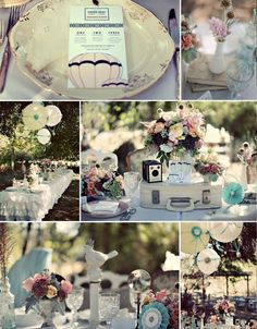 Supposed to be a wedding but I'm thinking tea party!