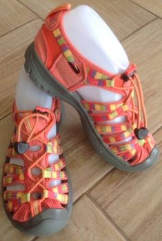 6a485f6ed72 Girls Keen Whisper Raya Sandal Sz 2 Hot Coral Hiking Shoes Athletic  Waterproof