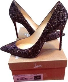 cheap price fake cheap best prices PLUM PLUM Shimmer Heels Red h5KBZaJN5L