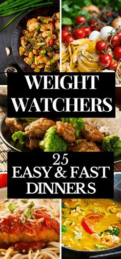 If you're looking for easy weight watchers meals for dinner with points, then look no further! This collection of 25 weight watchers meals for dinner is just what you need to jumpstart your diet! Whether you prefer one-pan or crockpot, chicken or beef, this list has you covered! All of these weight watchers recipes are fabulous, but my favorite is # 4! Click here to read or pin for later! #ww #weightwatchersrecipes #weightwatchers