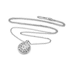 PERFECT LENGTH  Our Seville pendant necklace: the perfect length. Robust enough to wear daily #silver #ethical