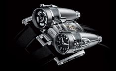 MB&F HM4 THUNDERBOLT WATCH - I could probably fly with this thing, but might burn my wrist