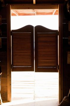 Saloon Doors Canvas Print / Canvas Art by Adam Burn & How to Make Saloon Doors | Doors Basements and House Pezcame.Com