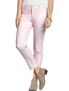 Womens The Pixie Chinos - pastel pink