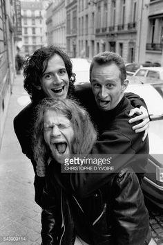 Belgian actors Remy Belvaux, Andre Bonzel, et Benoit Poelvoorde... #belvaux: Belgian actors Remy Belvaux, Andre Bonzel, et Benoit… #belvaux