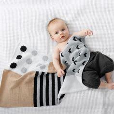 Caresse Babydecke Strickpaket