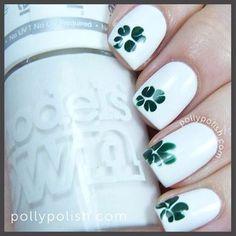 pollypolish St. patrick's day #nail #nails #nailart
