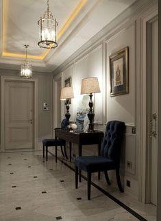 Приятный интерьер квартиры в Москве | Пуфик - блог о дизайне интерьера