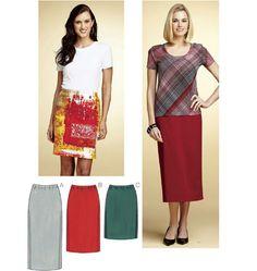 K3765 Misses Skirt | Easy
