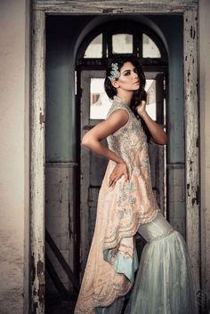 Pakistani couture Mubashira Usman Royal Grandiose Bridals F/W 2016