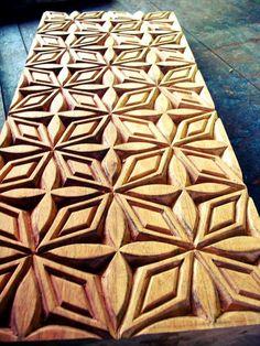Plantation House Samoa printing block