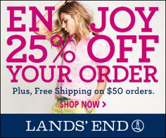 Lands' End Clothing Sale: Get Up to 82% Off Apparel for the Whole Family (Exp 4/1/14)