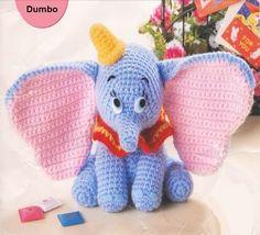 Modele crochet facile : Réaliser un Dumbo au Crochet | Meilleurs Bons Plans