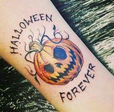Halloween Tattoo ideas: 47 Spooky Tattoos That Will Get You Excited For Halloween Halloween Tattoo Flash, Cute Halloween Tattoos, Spooky Tattoos, Horror Tattoos, Halloween Halloween, Halloween Costumes, Halloween Couples, Couple Costumes, Halloween Snacks