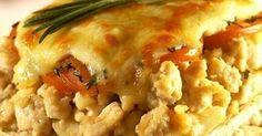 Receita | Torta de batata com frango