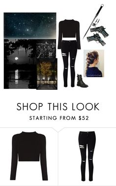 """""""Shadow"""" by krysbailey ❤ liked on Polyvore featuring Miss Selfridge and Giuseppe Zanotti"""