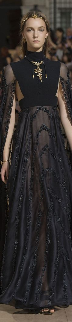 Evening Dress Valentino FW 2015 couture. Luxury, fashion, weddings, bridal style, design, jewelry