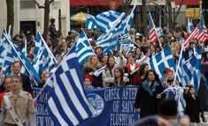 Athenians' Society of New York To Give Back To Charities in Greece ~ HellasFrappe Greek Independence, Greek Flag, Giving Back, Santorini, Athens, Charity, Greece, New York, Tours