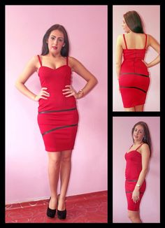 Sweetheart red dress  Please visit the FB page to order https://www.facebook.com/SndSFashions
