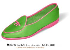 just about as preppy pink and green as you can get!