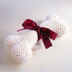Dog Bone amigurumi crochet pattern