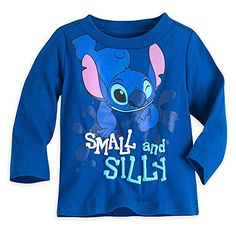 Disney Stitch Tee for Baby Size 1824 MO Blue -- You can find out more details at the link of the image.