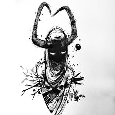 Inktober Art inspiration and artwork drawing Arte Horror, Horror Art, Art Sketches, Art Drawings, Creepy Sketches, Drawing Faces, Arte Obscura, Art Et Illustration, Creepy Art