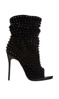 CHRISTIAN LOUBOUTIN  Guerilla  $1,995 - don't like open toe boots but these are gorge!