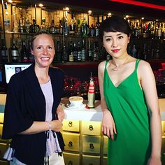 Retro Hong Kong cocktails with influencer Elle Lee at Bao Bei