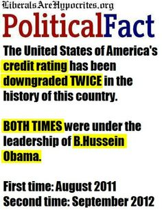 The record of Barack Hussein Obama.  Just say NO to four more years.