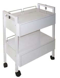 esthetician trolley, esthetician cart, spa cart, spa trolley, trolly Esthetician Trolley with 2 Drawers. $ 185