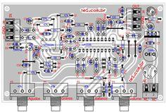 pre amplificador controle tons lm1036 ci raixo x 700x474 Lm1036   Circuito de Controle de tons estéreo Graves, Agudos, Volume circuito audio circuito circuito amplificador