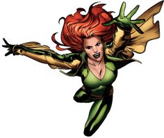 Siryn-Theresa was raised by Banshee's cousin and arch-nemesis Black Tom Cassidy without Banshee's knowledge. By her early teens, she left Black Tom and joined the X-Men offshoots X-Force and later X-Factor.