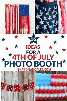 40de0c3f886 Create your own 4th of July photo booth for family and friends to enjoy at  your