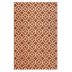 Taza Red 9 ft. 9 in. x 13 ft. 9 in. Area Rug