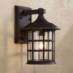 "Hinkley Freeport Bronze 12 1/4"" High Outdoor Wall Light"