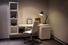 Your home office is all about being organised. Check out this solution in the studio apartment within BoConcept TCR!