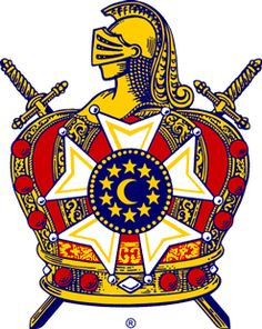 March Observed each year by the Masonic Order of De Molay in commemoration of the martyrdom at the stake of Jacques De Molay, the last grand master of the Order of Knights Templar, on Mar. Masonic Order, Masonic Art, Masonic Symbols, Masonic Lodge, Knights Hospitaller, Knights Templar, Jobs Daughters, Eastern Star, Emblem
