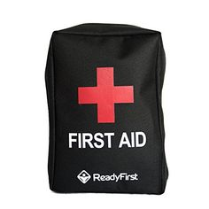 Camping First Aid Kits - 2in1 Compact First Aid Survival Kit  Bonus CPR Key Chain 71 Piece by Ready First  Travel Hiking Emergency Camping Hunting Travel  Waterproof Molle Straps on Back ** Check out the image by visiting the link.