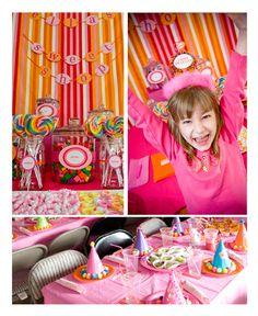 Birthday Party Inspiration: Ella's Sweet Shop | Tinyprints Blog